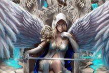 Imagens Anjos Guerreiros