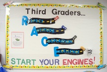 grade 3 road sign and traffic theme