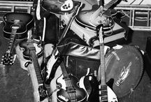 Beatles Gear / Cool photos of The Beatles with their gear!