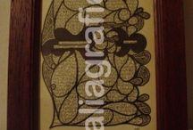 Koan Pages / Lavori  con kina e libri di AliaGrafica: http://aliagrafica.altervista.org/shop/koan-pages