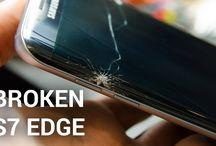samsung galaxy 7 edge  broken screen repair