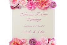 <テーマイメージで選ぶ>ガーリーがテーマの結婚式おすすめ小物 / すべてシェリーマリエで通信販売しています。