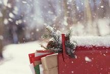 Christmas box and