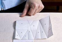 Šití na papír