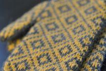 Stickat / Knitting