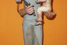 Antigüedades Jfernandezantic / SPANISH ANTIQUES SCULPTURES AND MANNEQUIN