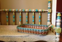 Decorating with Baskets / Baskets add charm and warmth to any home!