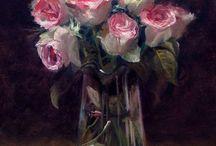 Art- Flowers / by Renee Annandale
