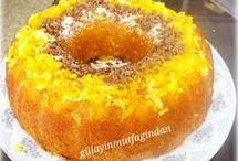 portakal suyunda kek