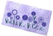 Flower stitch foot ideas