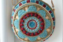 сумки круглые