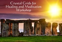 Energy Healing Workshops / Join us for workshops and classes for energy workers. Learn tools that support you in natural healing such as crystals and crystal grids, divination for total wellness, and chakra balance magic.