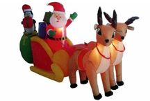 Outdoor Christmas Decorations | Christmas Time Treasures / Outdoor Decorations for Christmas
