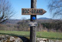 Le Roc Grand - Liginiac / Balade à faire en famille pour découvrir un panorama sur les Gorges de la Dordogne.