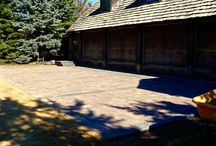Walkways / Front and backyard, paver, stones, patios