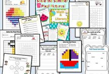 Summer Activities math, science and literacy / Summer activities that students of all ages can do in Homeschool or Summer School