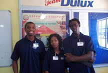 DULUX / Dulux promoters showing the staff at Dulux their new interactive website. Check it out at: www.dulux.co.za