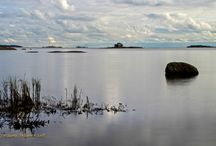 Meren hiljaisuus. Sea. / Uunisaari ja Lauttasaari.