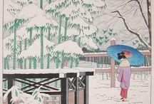 Japansk tegning/male