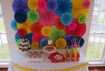 Party Backdrop Ideas / by Beautiful Paper Crafts