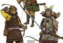 Samurai & Ashigaru references