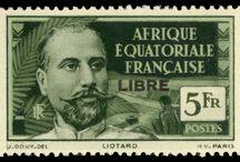 Afrique Equatoriale Francaise Stamps