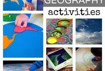 Preschool - Geography