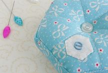 Pincushions / cute and lovely pincushions, because they are always a nice gift or treat for oneself