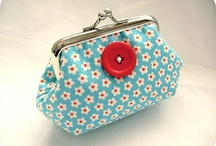 Sewing coin purses, pouches and such