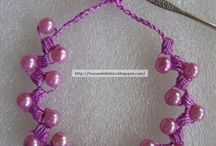tricot perles