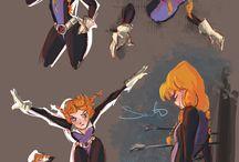 princesas superheroinas