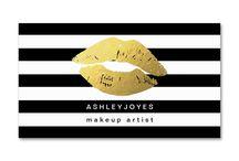make up cards business makeup artists