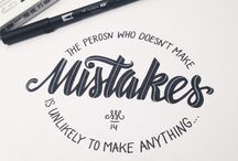 Inspirational Typography