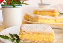 Custard/vanilla slice