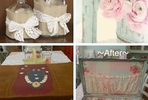 DIY Shabby Chic / Inspirations and ideas how to create your own Shabby Chic look.