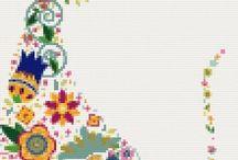 Modern cross stitch  / Modern cross stitch kits and patterns / by Yiota's cross stitch