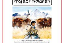 Thema: indianen en cowboys