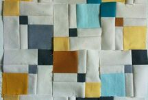 Small  AND BIG Squares quilt  / VERY GOOD DESIGN IDEA FOR DENIM QUILT