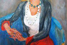Paintings and drawings J. Kimmel /  Jan Sluijters - Egon Schiele were copied