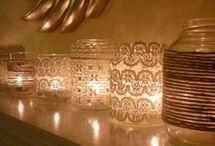 Centrepieces and Venue decor