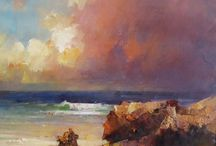Oils - seascape