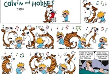 Calvin & Hobbs ❤❤ / by Lu Mar Matias