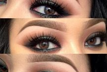 Brown Eyes - colors & make - up ♥