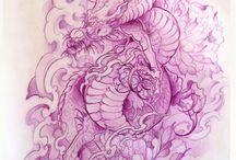 My work: japanese designs.