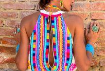 Vestidos bordados. / by La Boutique de Sinforey