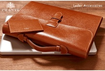 Leder Accessoires · Leather Goods / Eine Auswahl der Leder Accessoires von Prantl · A selection of leather goods by Prantl
