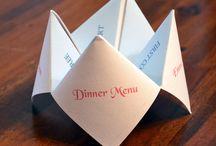 Kort (Bord, menu.....)