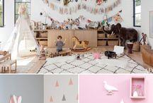 Kids shared rooms ⎪ Pokoje pro více dětí / #kids #rooms #shared rooms #bunk bed