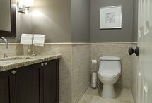Bathroom remodel / by Amanda Dent-Kern