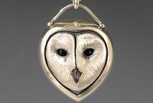 Птицы в украшениях / Birds in jewelry
